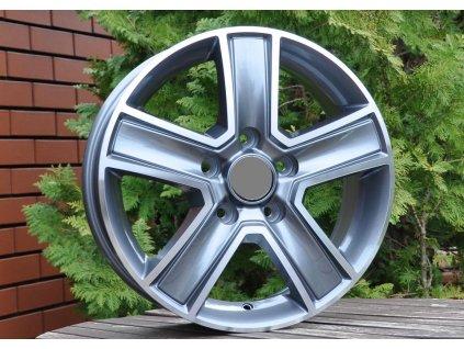 Alu kola design Mercedes 16x6,5 5x130 ET55 89,1 šedé