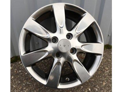 Alu kola design Nissan 14x5,5 4x100 ET40 60,1 šedé