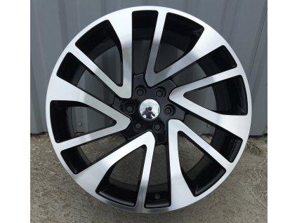 Alu kola design Nissan 20x8.5 6x114.3 ET25 73.1 černé