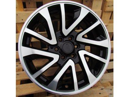 Alu kola design Nissan 17x7.5 6x114.3 ET30 66.1 černé