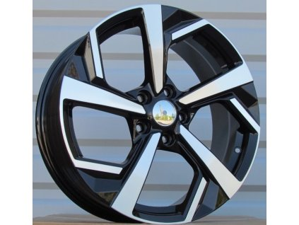 Alu kola design Nissan 18x7 5x114,3 ET40 66,1 černé