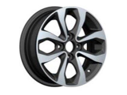Alu kola design Nissan 14x5,5 4x100 ET40 60,1 černé