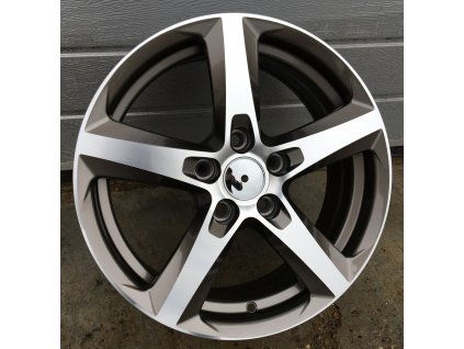 Alu kola design Opel 15x6,5 5x110 ET39 65,1 šedé