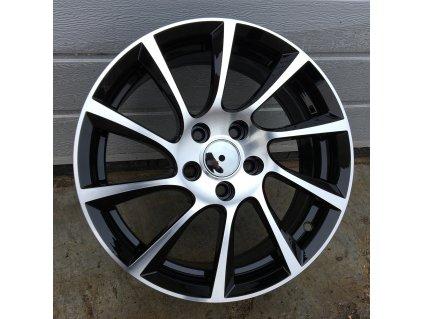 Alu kola design Opel 15x6.5 4x100 ET39 56.6 černé