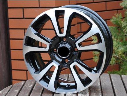 Alu kola design Opel 15x6 4x100 ET40 56,6 černé