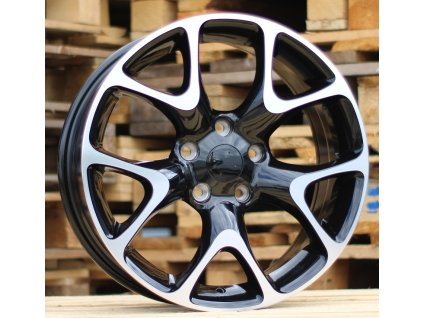 Alu kola design Opel 17x7,5 5x120 ET41 67,1 černé