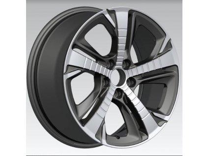 Alu kola design Peugeot 17x7,5 5x108 ET44 65,1 černé