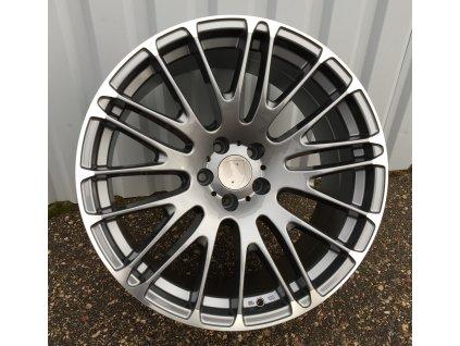 Alu kola design Porsche 20x10 5x112 ET20 66.5 šedé