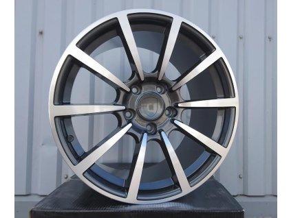 Alu kola design Porsche 20x9.5 5x130 ET45 71.5 šedé