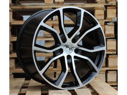 Alu kola design Porsche 21x9.5 5x130 ET46 71.6 černé