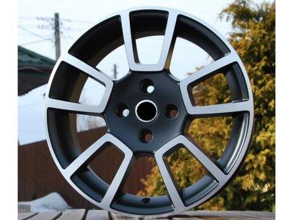 Alu kola design RS Wheels 15x6 4x100 ET40 56,6 černé