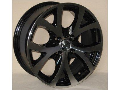 Alu kola design RS Wheels 15x6,5 4x98 ET35 58,6 černé