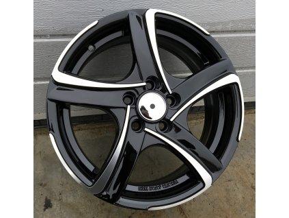 Alu kola design RS Wheels 14x5,5 4x108 ET35 63,4 černé