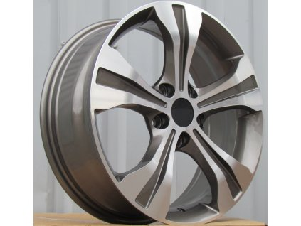 Alu kola design RS Wheels 17x6,5 5x114,3 ET48 67,1 šedé