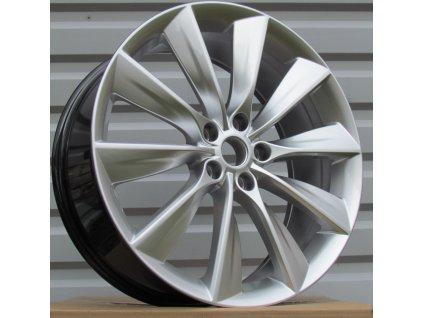 Alu kola design RS Wheels 21x8,5 5x120 ET40 64,1 stříbrné