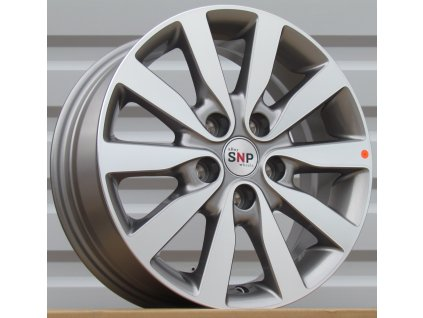 Alu kola design RS Wheels 16x6,5 5x114,3 ET45 67,1 šedé