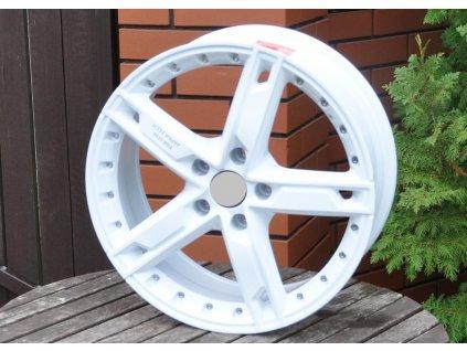 Alu kola design  17x7 5x105 ET42 56.6 bílé