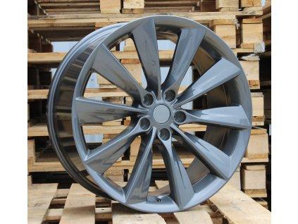 Alu kola design Tesla 21x9 5x120 ET40 64.1 šedé