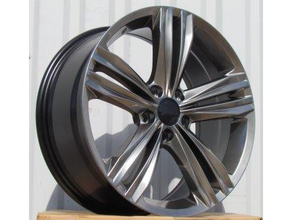 Alu kola design Volkswagen 17x7,5 5x112 ET40 57,1 šedé