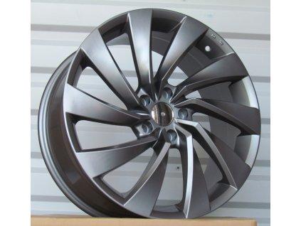 Alu kola design Volkswagen 19x8 5x112 ET40 66,5 šedé