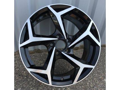 Alu kola design Volkswagen 15x6 5x100 ET38 57,1 černé