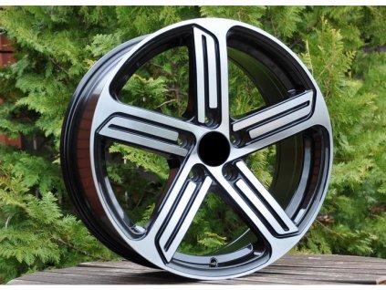 Alu kola design Volkswagen 15x6.5 5x112 ET43 57.1 černé