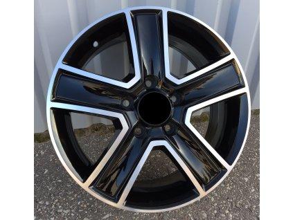 Alu kola design Volkswagen 16x6,5 5x120 ET45 65,1 černé