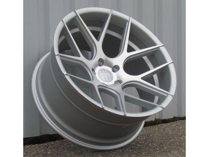 Alu kola Haxer 20x10 5x120 ET0 74,1 stříbrné