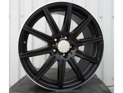 Alu kola design Mercedes 19x8,5 5x112 ET35 66,6 černé