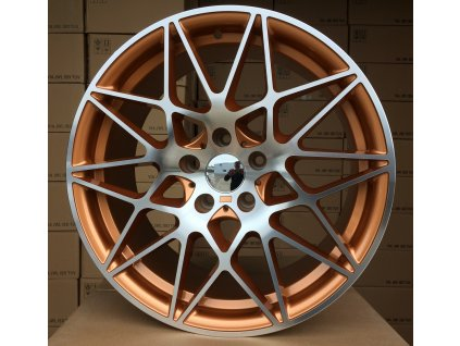 Alu kola design BMW 20x9,5 5x112 ET25 66,5 oranžové