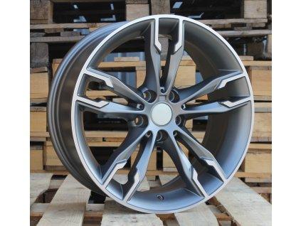 Alu kola design BMW 18x8 5x112 ET30 66,6 šedé