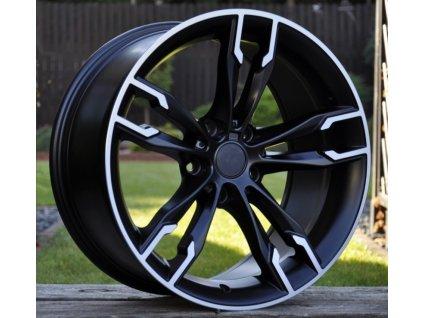 Alu kola design BMW 18x8 5x112 ET30 66,6 černé
