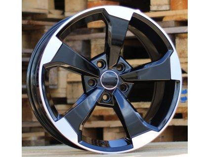 Alu kola design Audi 20x9 5x112 ET35 66.45 černé
