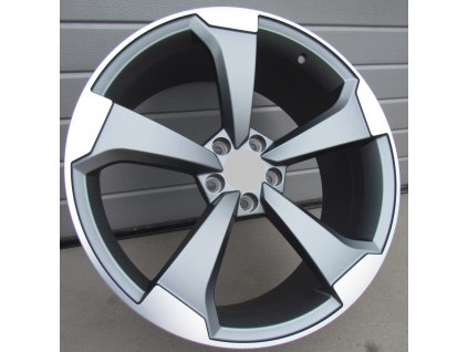 Alu kola design Audi 18x8 5x112 ET40 66,45 šedé