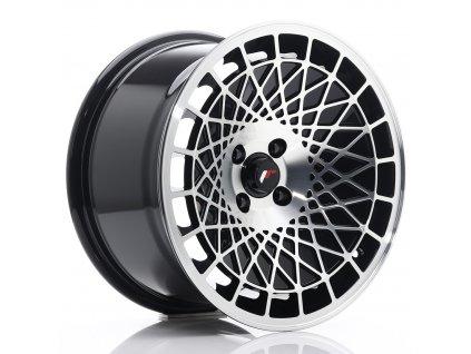 Alu kola Japan Racing JR14 16x9 ET10 4x100 Black Machined