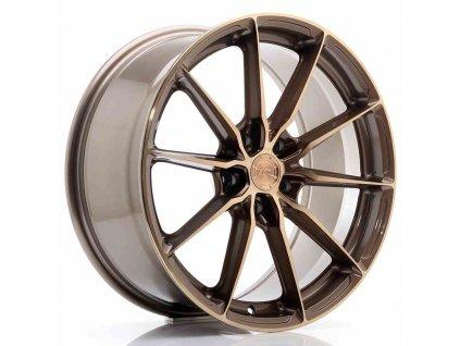 Alu kola Japan Racing JR37 19x8,5 ET35 5x120 Platinum Bronze