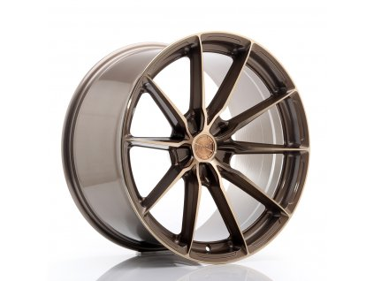 Alu kola Japan Racing JR37 20x10,5 ET20-40 5H BLANK Platinum Bronze