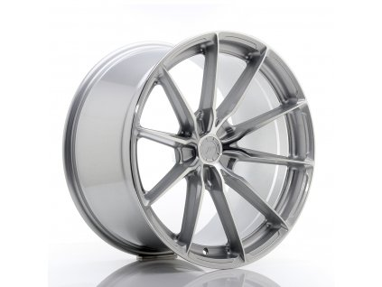 Alu kola Japan Racing JR37 20x10,5 ET20-40 5H BLANK Silver Machined Face
