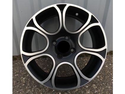 Alu kola design Fiat 15x6 4x99 ET35 73.1 černé