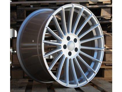 Alu kola Haxer 21x10.5 5x112 ET40 66.6 stříbrné