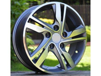 Alu kola design Honda 15x5.5 4x100 ET45 56.1 šedé