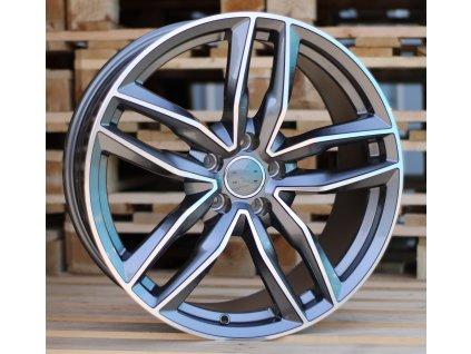 Alu kola design Audi 16x7 5x112 ET39 66.45 šedé
