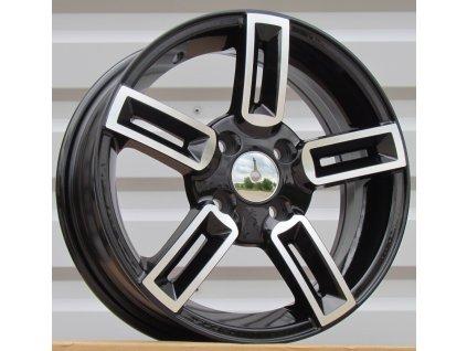Alu kola design Fiat 14x5.5 4x98 ET35 58.1 černé