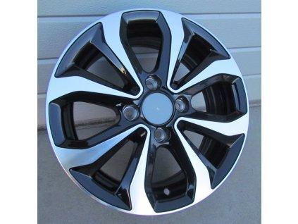 Alu kola design Hyundai 14x5.5 4x100 ET38 54.1 černé