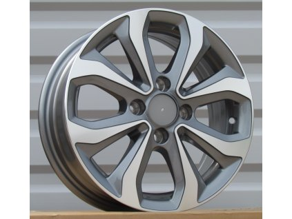 Alu kola design Hyundai 14x5.5 4x100 ET38 54.1 šedé