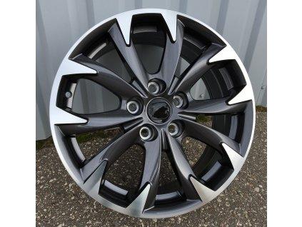 Alu kola design Mazda 19x7 5x114.3 ET50 67.1 šedé