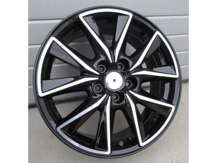 Alu kola design Mazda 17x7 5x114.3 ET50 67.1 černé