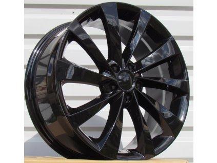 Alu kola design Tesla 18x8 5x114.3 ET40 64.1 černé
