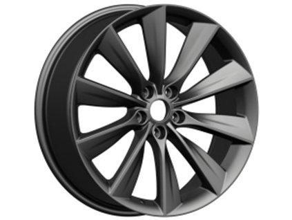 Alu kola design Tesla 19x9.5 5x114.3 ET40 64.1 šedé