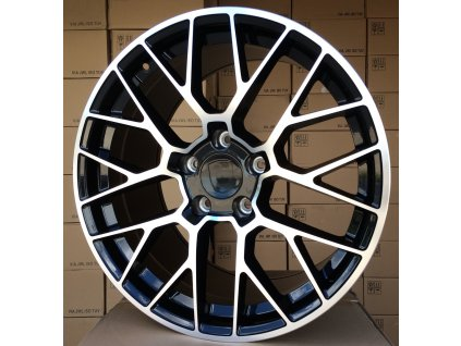 Alu kola design Porsche 20x11 5x130 ET67 71.6 černé